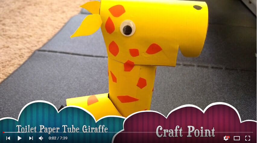 kitchen roll toilet paper giraffe