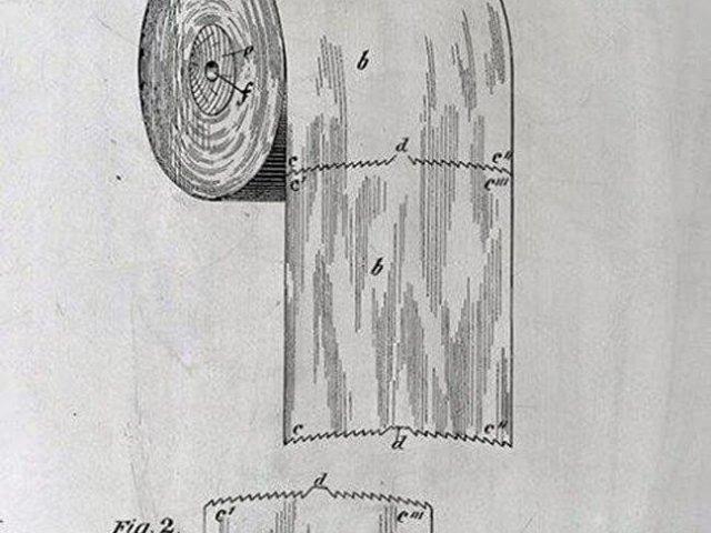 Σχέδιο του 1891 δείχνει το σωστό τρόπο χρήσης του χαρτιού υγείας